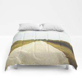Indiana Corn Field Summers Comforters