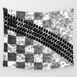 Flag Skid Mark Wall Tapestry