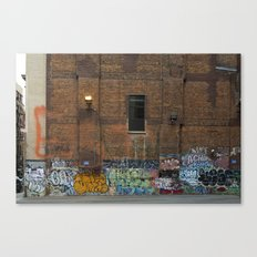 Graffiti #1 Canvas Print