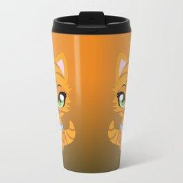 Cute little red kitten Travel Mug