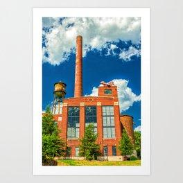Richmond Factory - Virginia Art Print