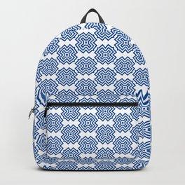 Santorini Pattern Four Backpack