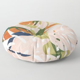 Monstera delight Floor Pillow