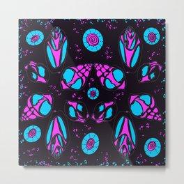 Purple shells Metal Print