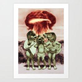 War vacation Art Print