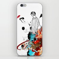 sketch iPhone & iPod Skins featuring Sketch by Adriana Bermúdez
