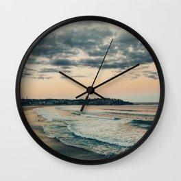 Australian landscapes - Bondi Beach Wall Clock