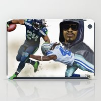 seahawks iPad Cases featuring The Beast by Jae Gomez