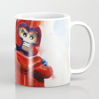 magneto Mugs featuring Magneto Lego by Toys 'R' Art