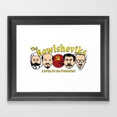 The Bowlsheviks (A Strike for the Proletariat!) Framed Art Print