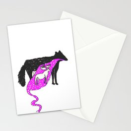 WOLF FOOD Stationery Cards