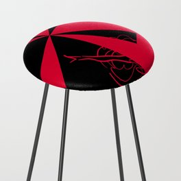 Cancan ~ From Sinners And Saints ~ Bohème Counter Stool