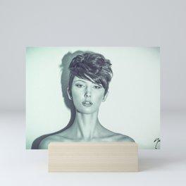 5647 Natasha Au Naturel - Boudoir Eros Studio Beauty Nude Mini Art Print