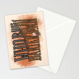 Who Runs Bartertown Stationery Cards