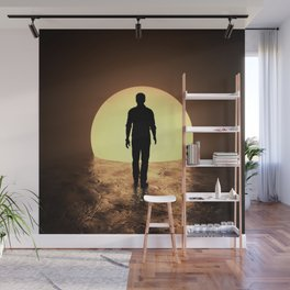 Into The Sun Wall Mural