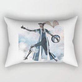 Blue New York City Rectangular Pillow