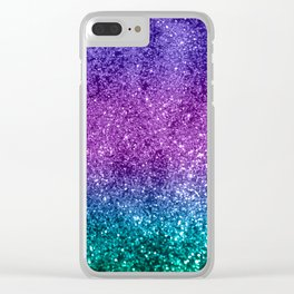 Unicorn Girls Glitter #10 #shiny #decor #art #society6 Clear iPhone Case