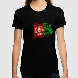 Afghanistan Flag Tee T-shirt
