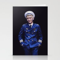 shinee Stationery Cards featuring Key - SHINee by Felicia
