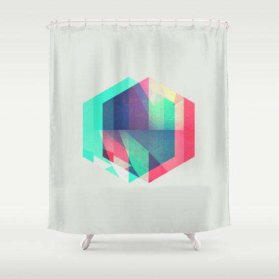 hyx^gyn Shower Curtain