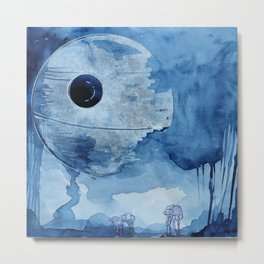 That's no moon.  Metal Print