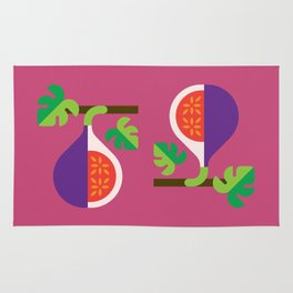 Fruit: Fig Rug