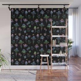 Enchanted Garden-Holographic Wall Mural