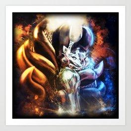 Shining Kyubi Art Print