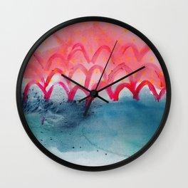 Moon Tea Wall Clock