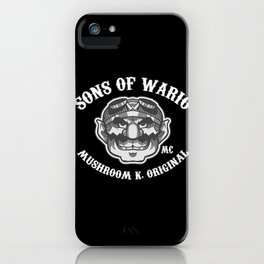 Sons Of Wario. iPhone Case