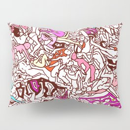 Kamasutra LOVE - Candy Cane Red Pillow Sham
