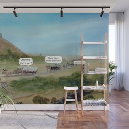 Travels with Kids Oregon Trail Theme Wall Mural