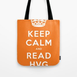 Keep calm and read HVG Tote Bag