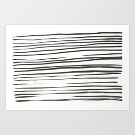 chinese ink Art Print