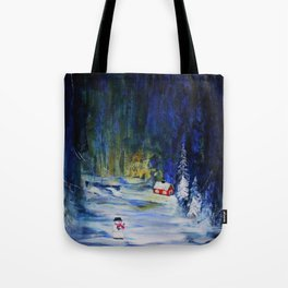 Out alone Tote Bag