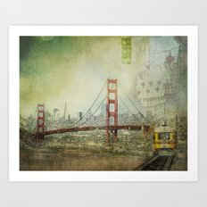 Suspended Art Print