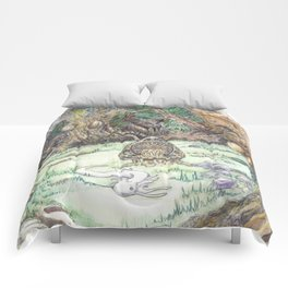 RHX Forest Logo Comforters