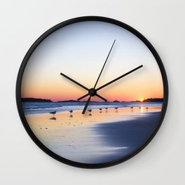 "All My ""Ducks"" In A Row Wall Clock"