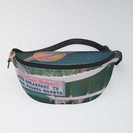 greetings from palm springs Fanny Pack