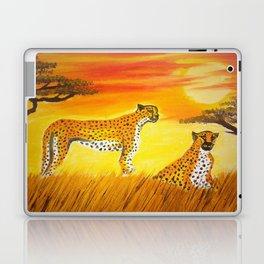 Tigers Sun Laptop & iPad Skin