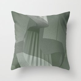 SoundScape 4.1 in Fog Throw Pillow
