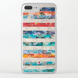 linear Clear iPhone Case