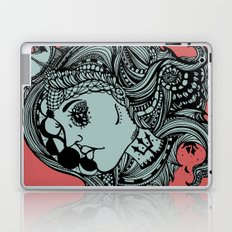 Phases of the Moon, Lady of the Sea Laptop & iPad Skin
