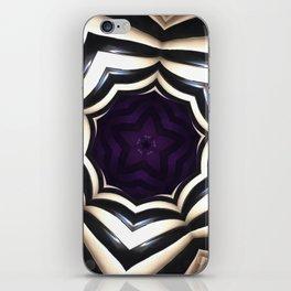 Dark Mandala #2 iPhone Skin