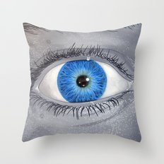 What Are You Looking At? Throw Pillow