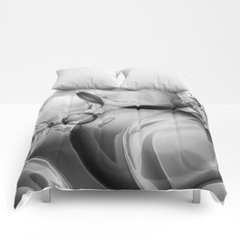 Bubble Noir Comforters