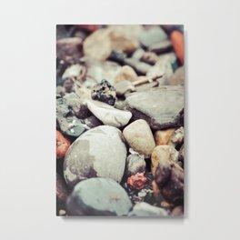 Pebbles IV Metal Print