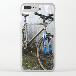 Stand alone Cycle Clear iPhone Case