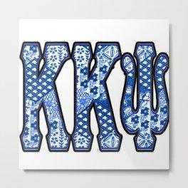 K K Psi Retro Metal Print