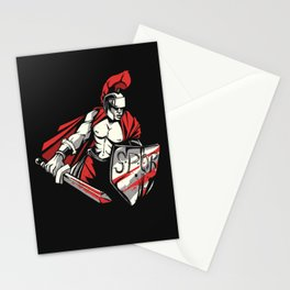 Roman Empire Warrior Stationery Cards